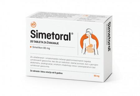 SIMETORAL tablete za žvakanje