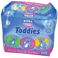 NIVEA BABY TODDIES DUO PACK 2X60KOM