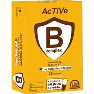 ACTIVE B COMPLEX+folat