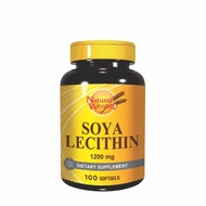 Sojin lecitin 1200mg  100 gel kapsula