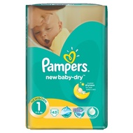 PAMPERS 1 NEW BORN 2-5KG 43KOM
