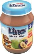 LINO KAŠICA JABUKA+ŠLJIVA 190g