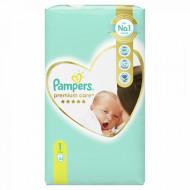 PAMPERS 1 PREMIUM CARE 2-5KG 52KOM