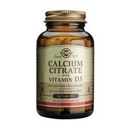 SOLGAR Kalcijum citrat plus vitamin D  60 tableta