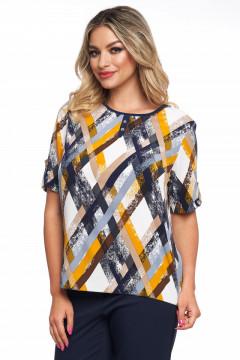 Bluza bleumarin cu imprimeu cu desene