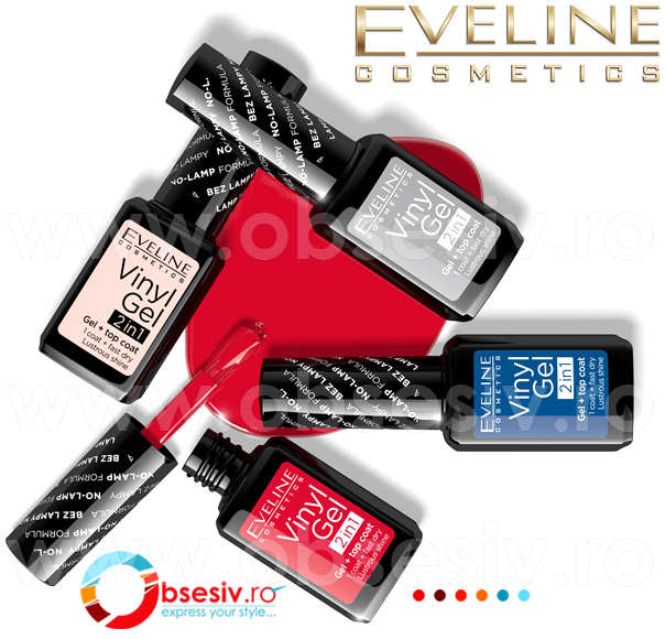 Lac Unghii Eveline Vinyl Gel 2 in 1 Eveline Cosmetics