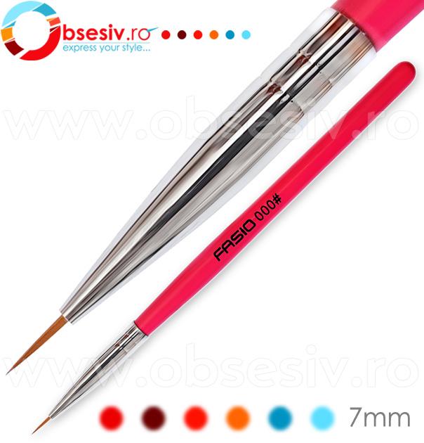Pensula Nail Art, Nr 000#, Pensule Pictura Manichiura