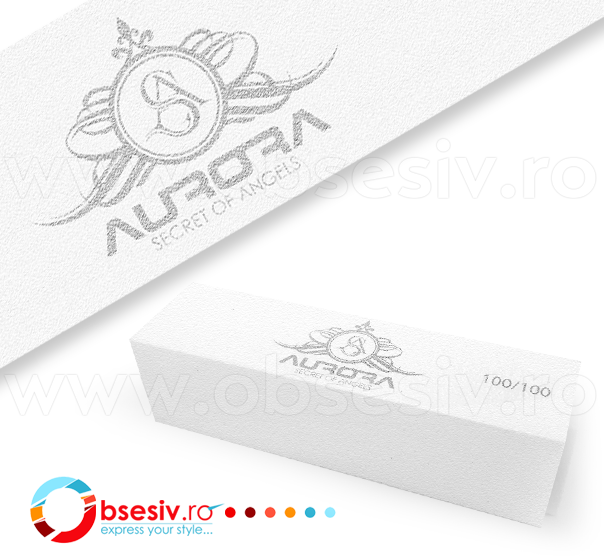 Buffer Unghii Aurora Secret, Granulatie 100/100