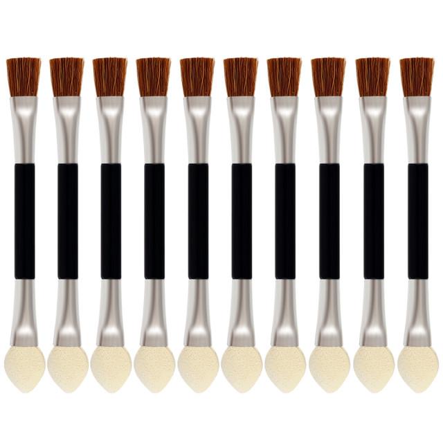 Aplicator Fard cu Pensula MakeUp Set 10 Buc imagine produs