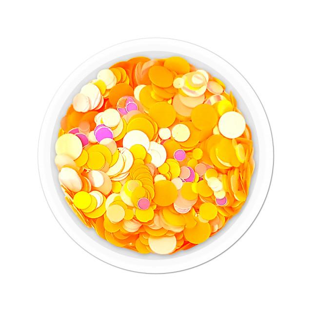 Confetti Unghii Multicolore Cod CU-24, Accesorii Nail Art imagine produs
