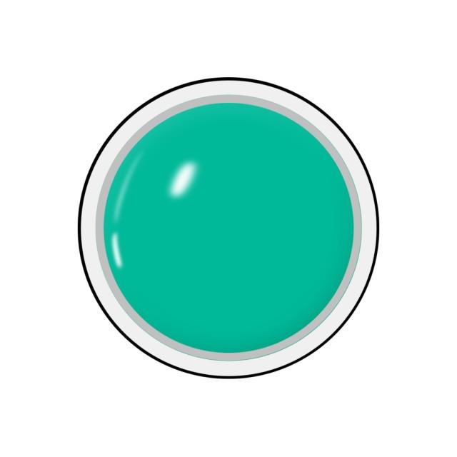Gel colorat unghii Royal Femme MINT GREEN (Geluri Profesionale Unghii) imagine produs