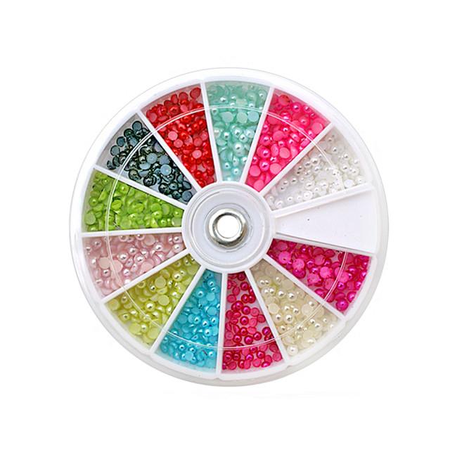 Jumatati Perla Unghii Multicolore, Disc Nail Art, Cod JP-02 imagine produs