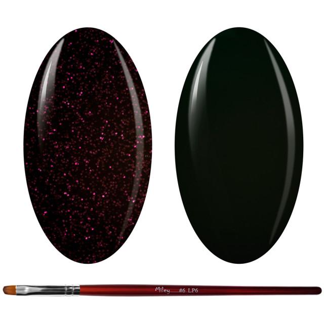 Kit Geluri Color + Pensula Gel Unghii, Cod K2GP-48S/73 imagine produs