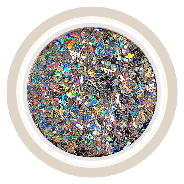 Pudra Decorativa Unghii Laser Effect sau Chrome Flake Cod 1000um imagine produs