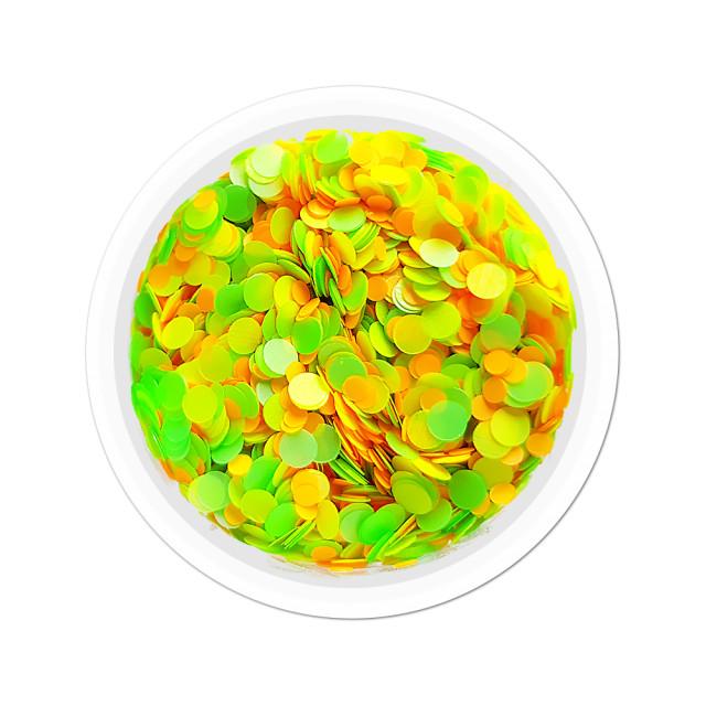 Confetti Unghii Multicolore Cod CU-15, Accesorii Nail Art imagine produs