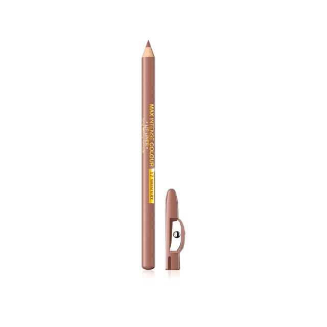 Creion Contur Buze, Eveline Max Intens Colour 17 Warm Nude imagine produs