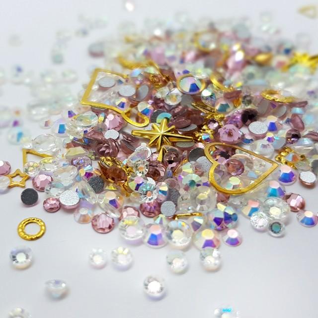 Decor Unghii, Ornamente Metalice si Pietricele, 82218 imagine produs