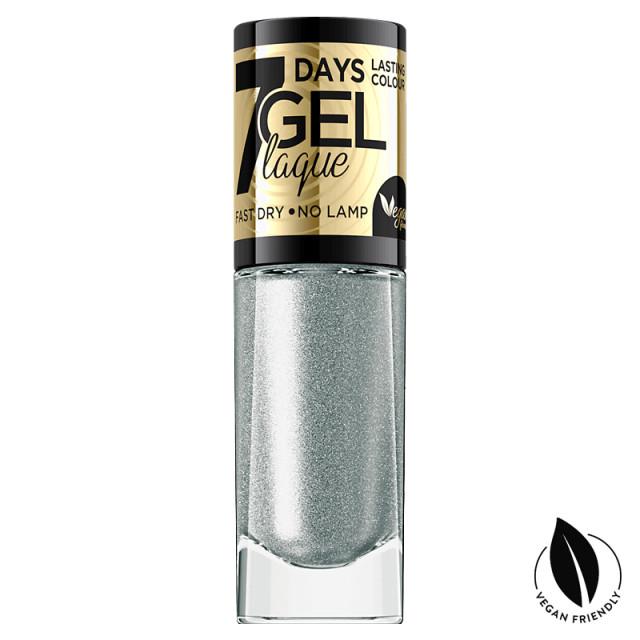 Lac Unghii cu Efect de Gel 7 Days Gel Festive Eveline Cosmetics No 02 imagine produs