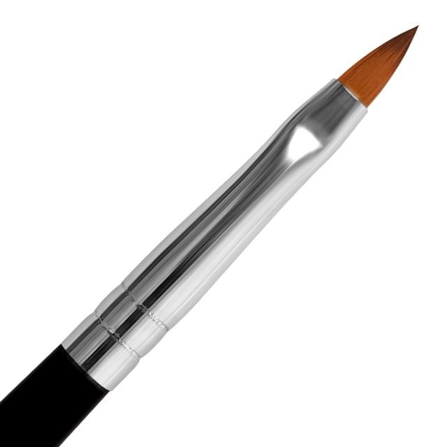 Pensula Acryl Nr 2 cu Capac, Pensule Profesionale Acryl imagine produs