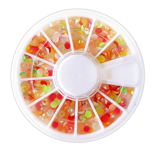 Pietricele Multicolore Unghii Decorative, Discuri Nail Art imagine produs