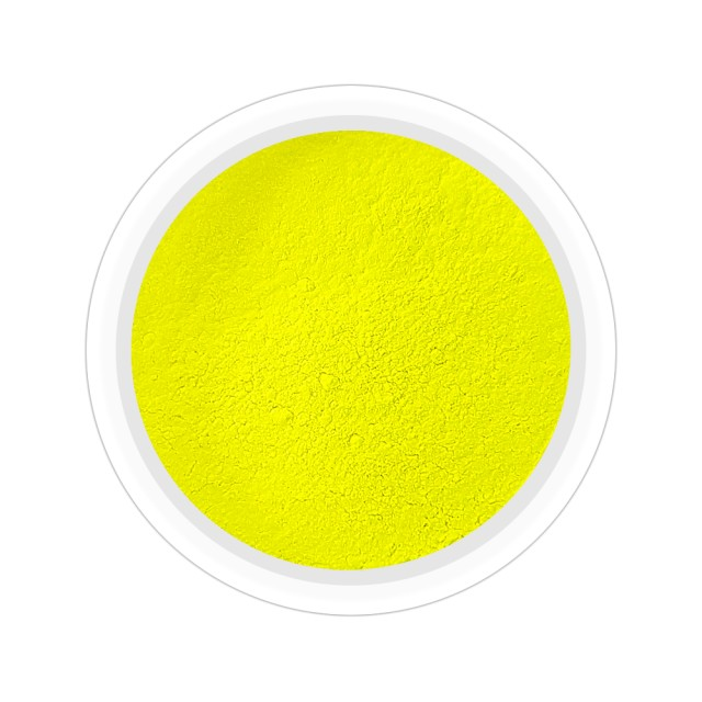 Pigmenti Geluri, Culoare Galben NEON, Pigmenti Colorati Manichiura - Unghii imagine produs