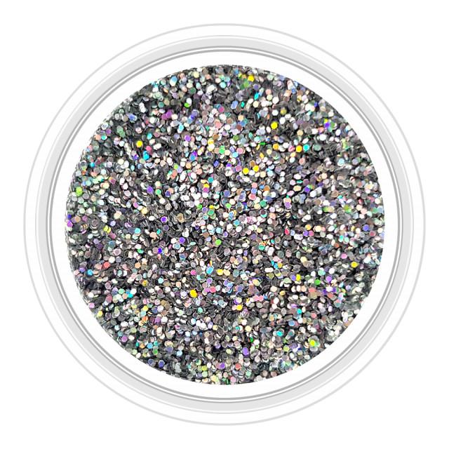 Sclipici Unghii Clasic Culoare Argintiu Multicolor Cod SC-54 imagine produs