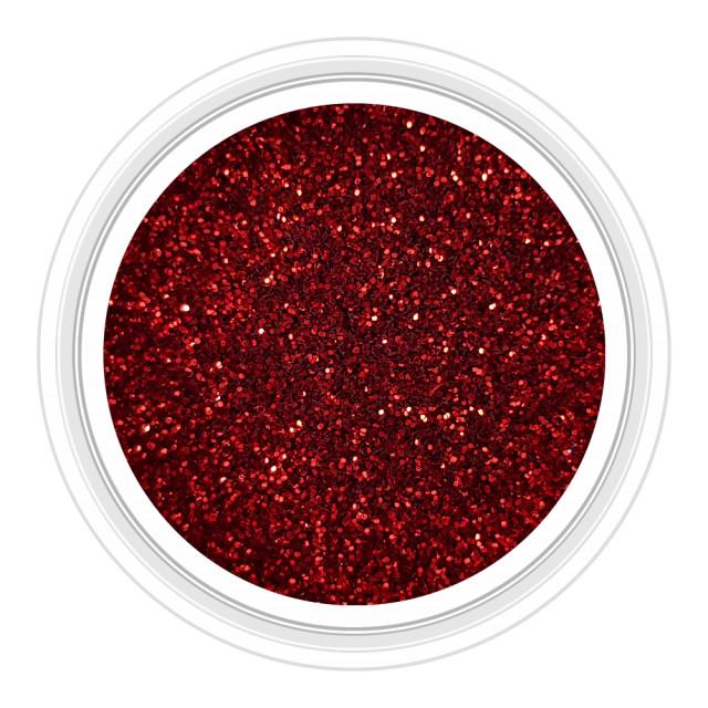 Sclipici Unghii Metalizat Culoare Rosu Visiniu Cod SM-01 imagine produs