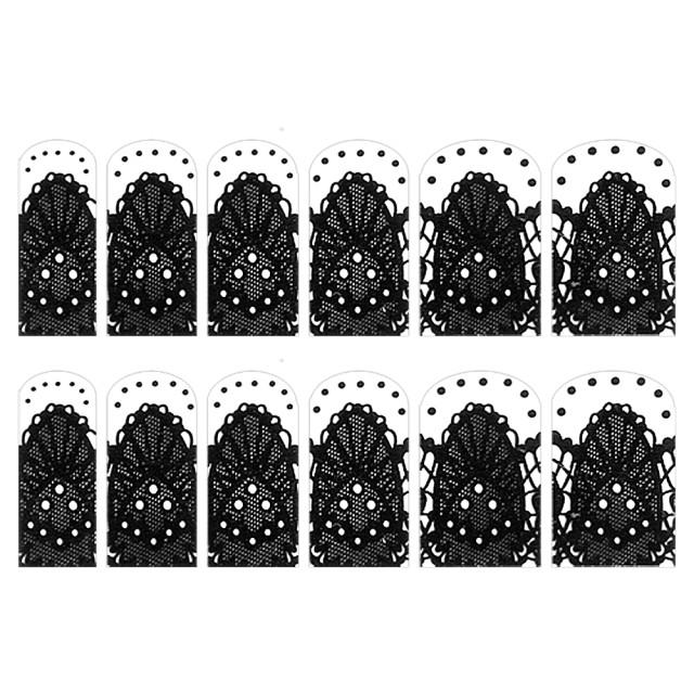 Abtibilde Unghia Intreaga 12 Buc, FD011, Stickere Unghii imagine produs