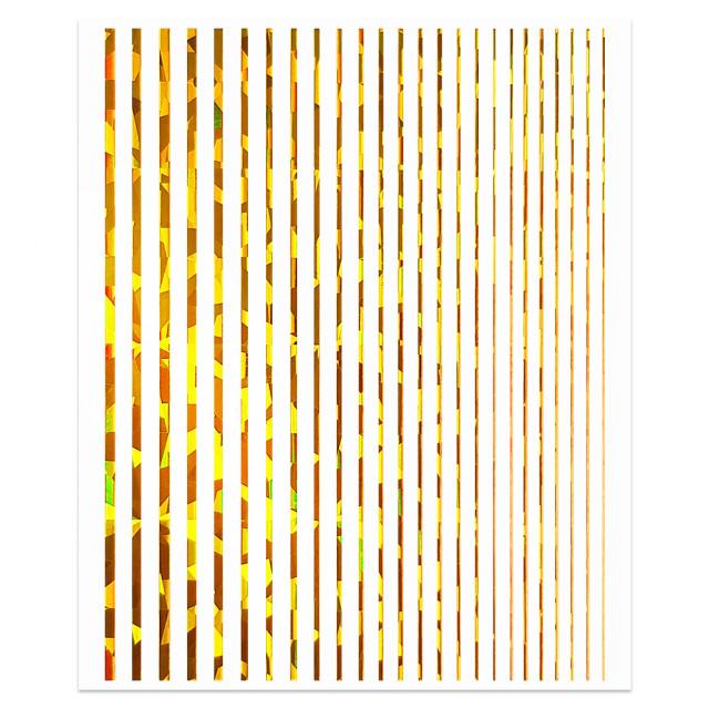 Abtibilde Unghii Motive Decorative Liniare, Linera GoldReflection imagine produs