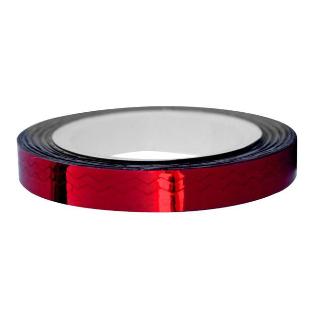 Banda Adeziva Unghii Zig Zag, Culoare Rosu imagine produs