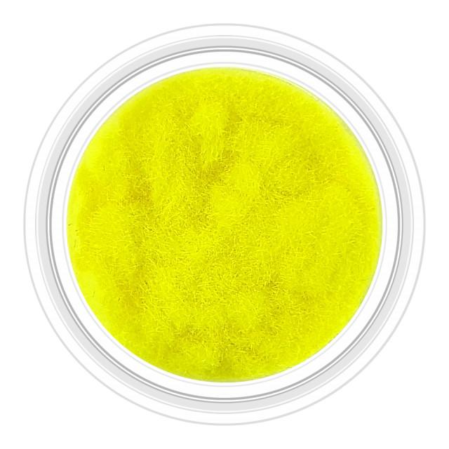 Catifea Unghii Decorativa Culoare Galben Florescent, Cod C-V02 imagine produs