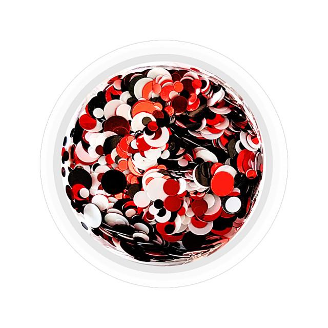 Confetti Unghii Multicolore Cod CU-RAN, Accesorii Nail Art imagine produs