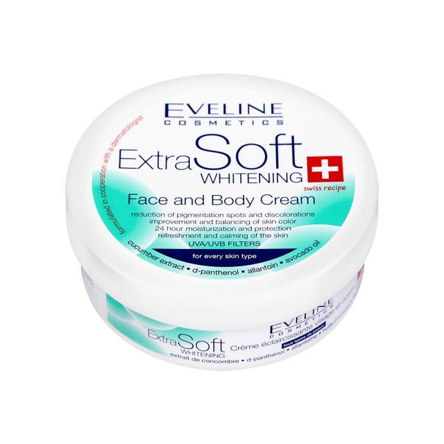 Crema Albire Extra Soft Fata si Corp Eveline Cosmetics Extra Soft Whitening imagine produs