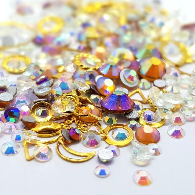 Decor Unghii, Ornamente Metalice si Pietricele, 82221 imagine produs