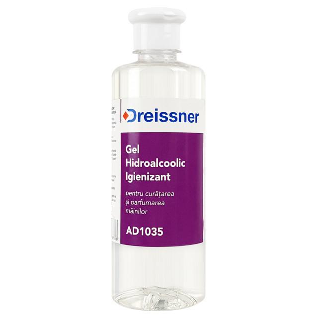 Gel Igienizant Maini Hidroalcoolic cu Alcool 70% Dreissner 500ml imagine produs