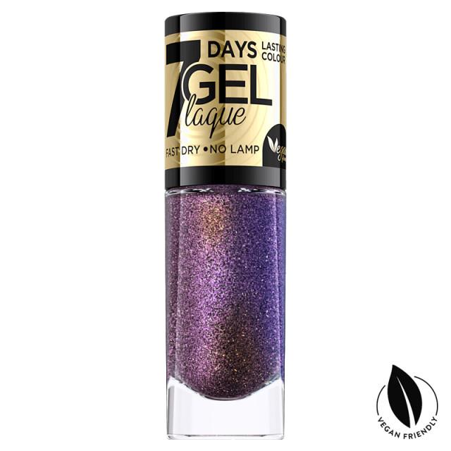 Lac Unghii cu Efect de Gel 7 Days Gel Festive Eveline Cosmetics No 03 imagine produs