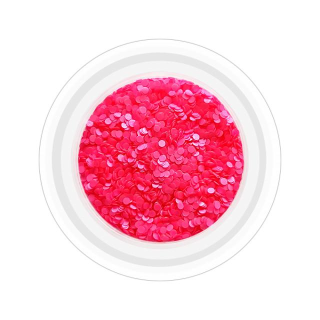 Paiete Unghii Neon Cod PN-F, Culoare Fuchsia imagine produs