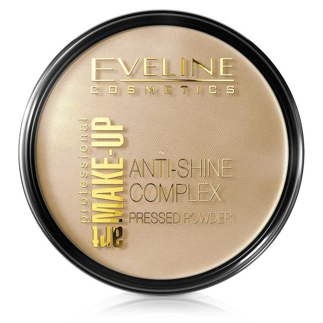 Pudra Minerala Matifianta Anti Stralucire Eveline Cosmetics, No 37 Warm Beige imagine produs