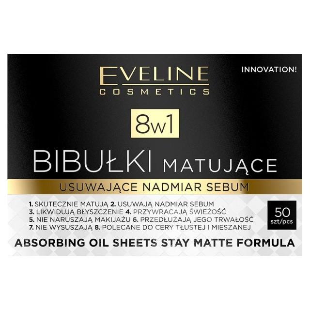 Servetele Absorbante Matifiante 8 in 1, Eveline Cosmetics imagine produs