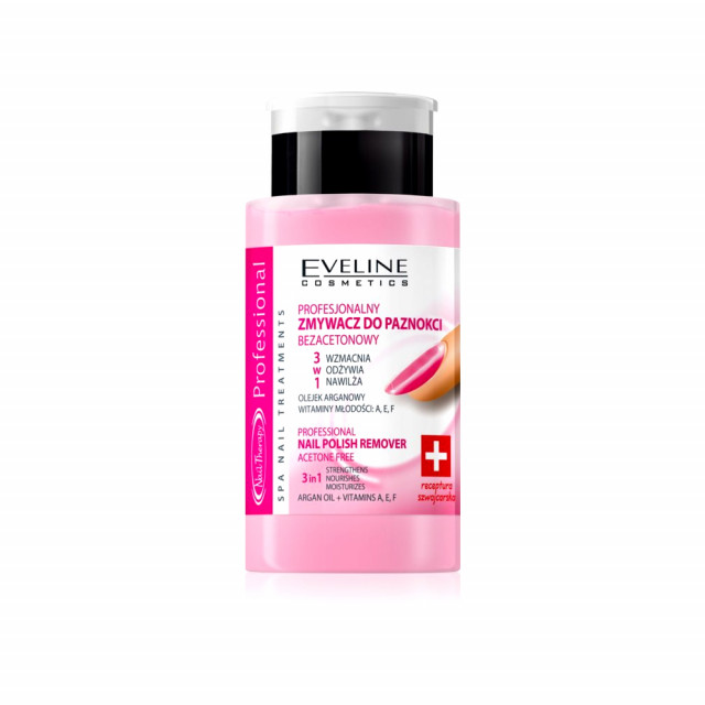 Acetona cu Tratament 3 in 1 Eveline Cosmetics 190 ml imagine produs