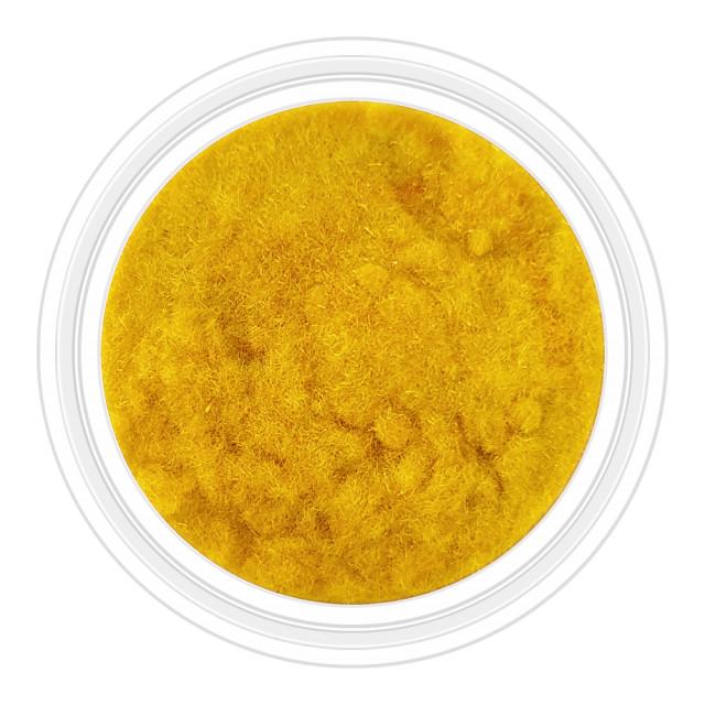 Catifea Unghii Decorativa Culoare Galben Mustar, Cod C-V22 imagine produs