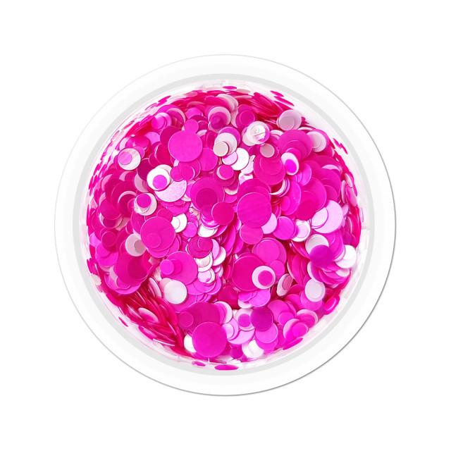 Confetti Unghii Multicolore Cod CU-23, Accesorii Nail Art imagine produs