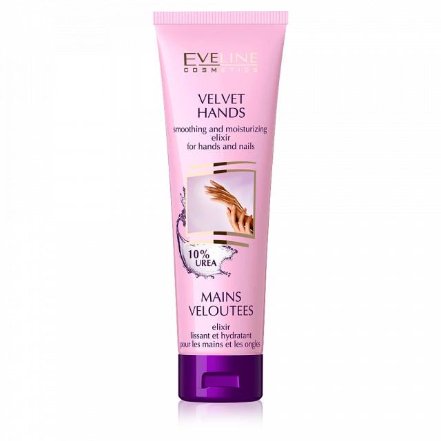 Crema Maini si Unghii Elixir pentru Maini Catifelate si Hidratate Eveline Cosmetics imagine produs
