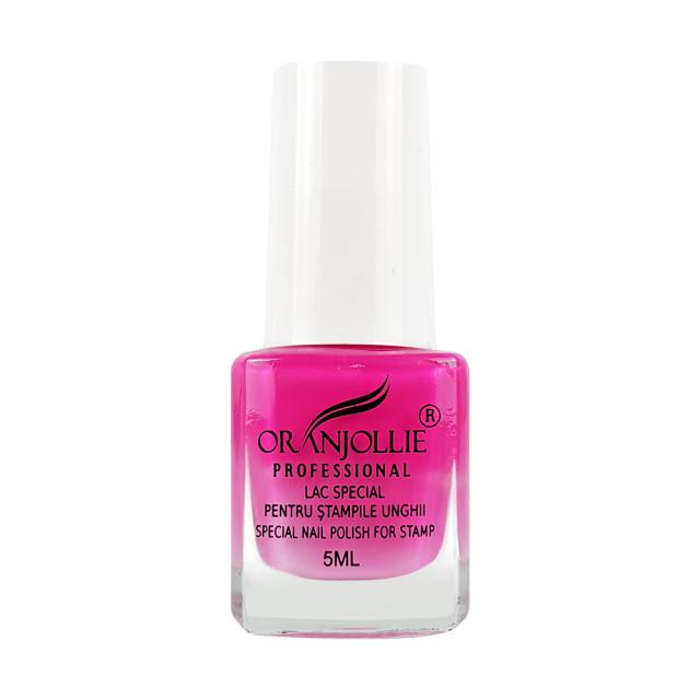 Lac Special Stampile Unghii Roz Neon imagine produs