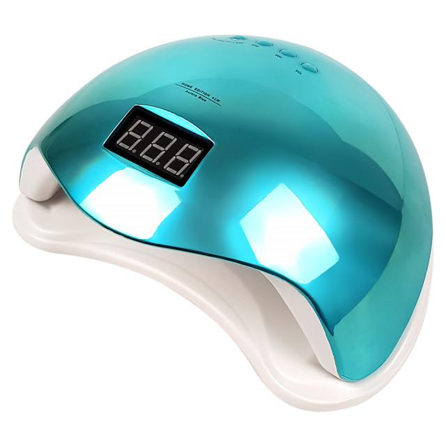 Lampa LED/UV 48Watt cu Aprindere Automata la Senzor, Aurora Blue imagine produs