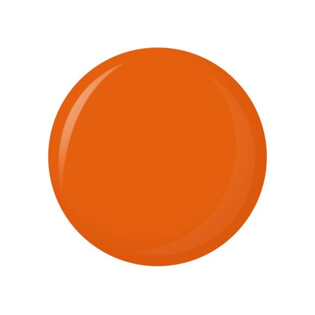 Oja Semipermanenta Peel-OFF - 003 Red Orange (Gel Lac Exfoliant) imagine produs
