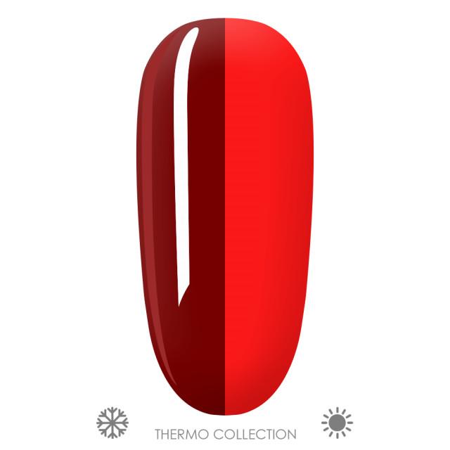 Oja Semipermanenta Thermo Aurora T15, Culori Visiniu > Rosu imagine produs