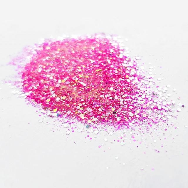 Sclipici cu Paiete Florescent Glow in Dark Cod SP-Pink imagine produs