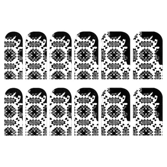 Abtibilde Unghia Intreaga 12 Buc, FD016, Stickere Unghii imagine produs