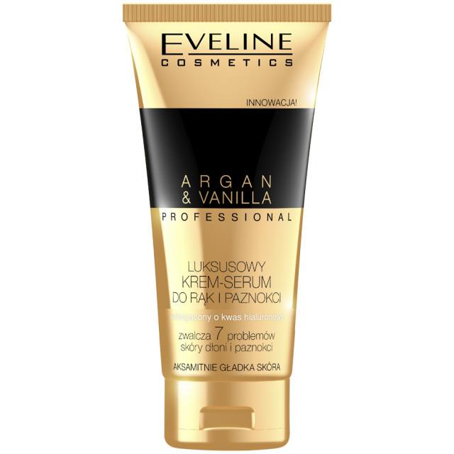 Crema Maini Ser de Lux Profesional Argan & Vanilla Eveline Cosmetics imagine produs